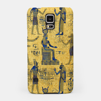 Thumbnail image of Vintage Egyptian Ornament with Lapiz Lazuli Samsung Case, Live Heroes