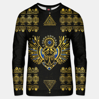 Thumbnail image of Egyptian Scarab Beetle  Cotton sweater, Live Heroes
