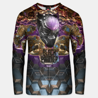 Thumbnail image of Black Panther crown edition  Cotton sweater, Live Heroes