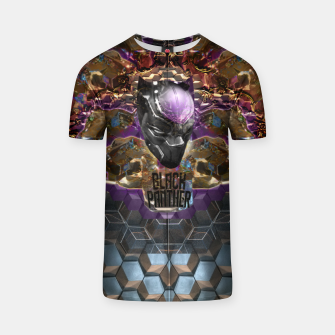 Thumbnail image of Black Panther crown edition  T-shirt, Live Heroes