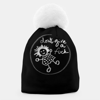 "Miniaturka ""Don't give a fuck - Little babe doodle"" Gorro, Live Heroes"