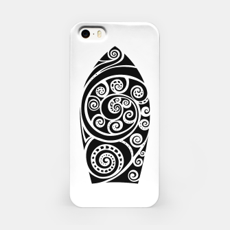 Thumbnail image of Surf board iPhone Case, Live Heroes