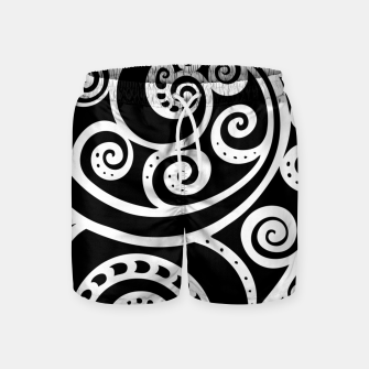 Thumbnail image of Surf board Swim Shorts, Live Heroes