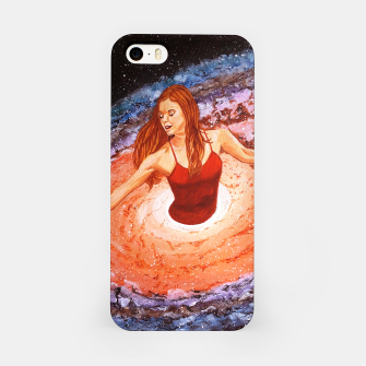 Thumbnail image of Her cosmic dance iPhone Case, Live Heroes