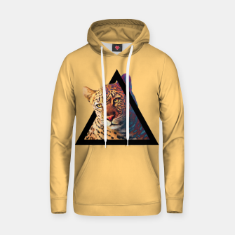 Thumbnail image of Neon Leo Cotton hoodie, Live Heroes
