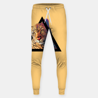 Miniatur Neon Leo Cotton sweatpants, Live Heroes