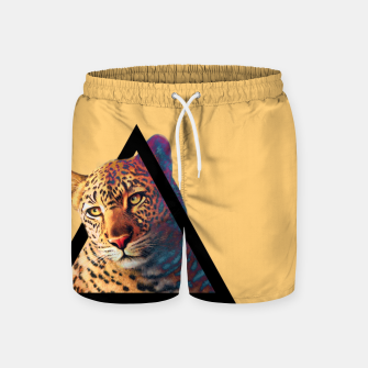 Thumbnail image of Neon Leo Swim Shorts, Live Heroes