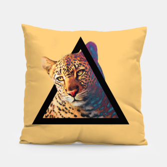 Thumbnail image of Neon Leo Pillow, Live Heroes
