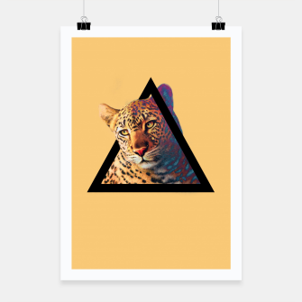 Thumbnail image of Neon Leo Poster, Live Heroes