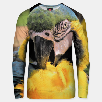 Thumbnail image of Parrot Yellow Ara Cotton sweater, Live Heroes