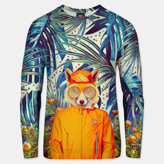 Thumbnail image of Floral foxy Cotton sweater, Live Heroes