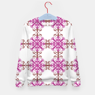 Miniatur Kids art sweater, mandalas on w., Live Heroes