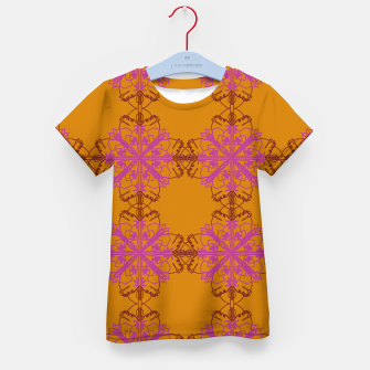 Miniatur Kids luxury t-shirt mandalas SUMMER Gold, Live Heroes