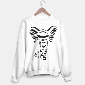 Thumbnail image of Silhouette of elephant Sweater regular, Live Heroes