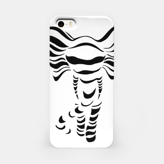 Thumbnail image of Silhouette of elephant iPhone Case, Live Heroes