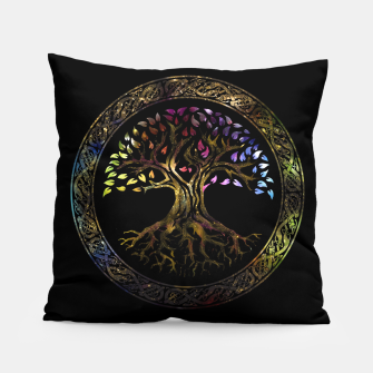 Thumbnail image of Glowing Tree of life  -Yggdrasil  Pillow, Live Heroes