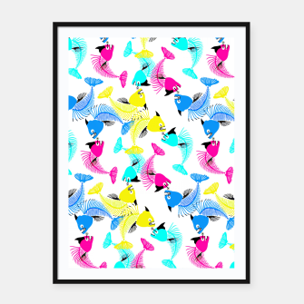 Miniaturka Fishes Love Framed poster, Live Heroes
