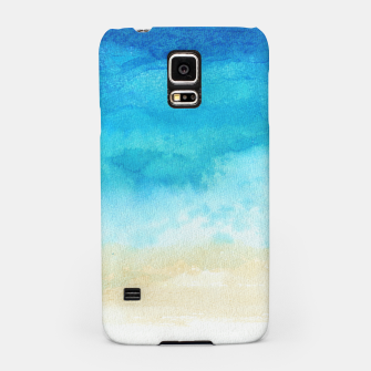 Thumbnail image of Ocean View. Watercolor Sea  landscape. Hand drawn illustration  Samsung Case, Live Heroes