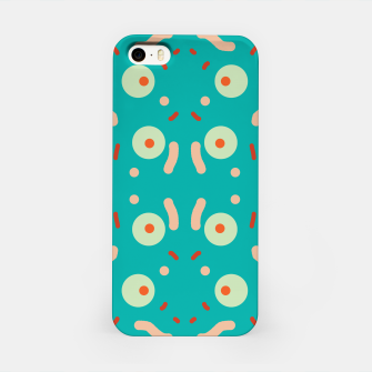 Thumbnail image of Dots and confusion iPhone Case, Live Heroes