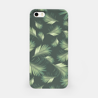 Thumbnail image of Tropical Palms Pattern #1 #tropical #decor #art  iPhone-Hülle, Live Heroes
