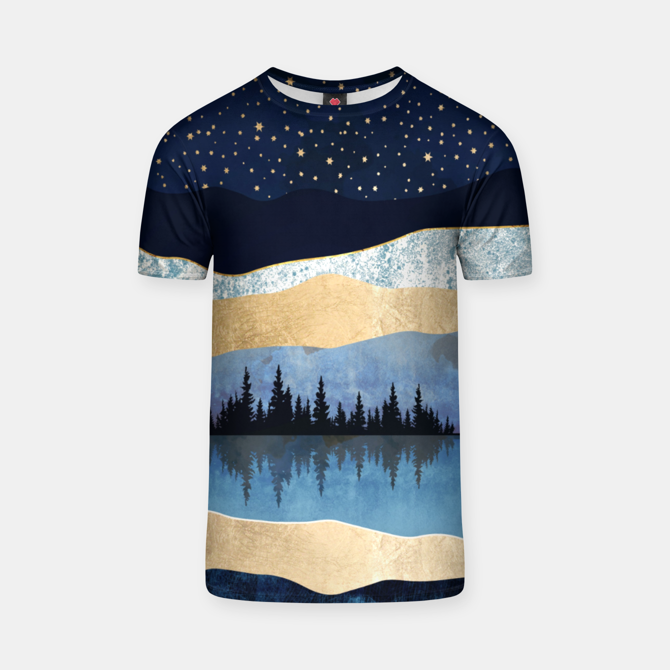 Image of Midnight Lake T-shirt - Live Heroes
