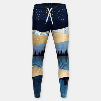 Thumbnail image of Midnight Lake Cotton sweatpants, Live Heroes