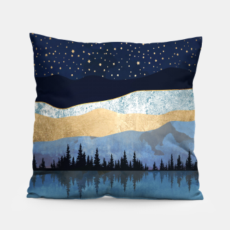 Thumbnail image of Midnight Lake Pillow, Live Heroes