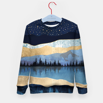 Thumbnail image of Midnight Lake Kid's sweater, Live Heroes