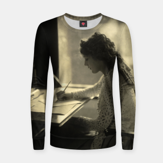 Thumbnail image of Mary Pickford Vintage Hollywood Woman cotton sweater, Live Heroes