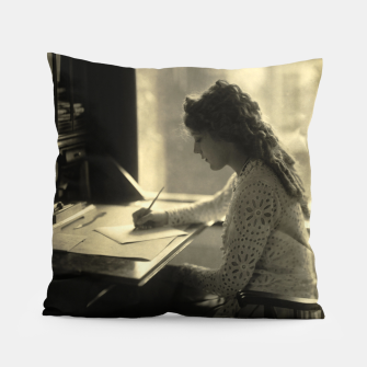 Thumbnail image of Mary Pickford Vintage Hollywood Pillow, Live Heroes
