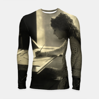 Thumbnail image of Mary Pickford Vintage Hollywood Longsleeve rashguard , Live Heroes