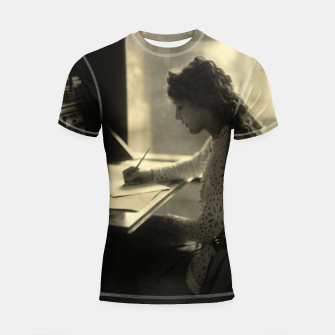 Thumbnail image of Mary Pickford Vintage Hollywood Shortsleeve rashguard, Live Heroes