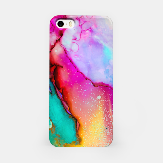 Thumbnail image of Abstract Painting iPhone Case, Live Heroes
