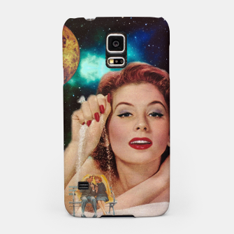Thumbnail image of Redhead Goddess Digital Collage Samsung Case, Live Heroes