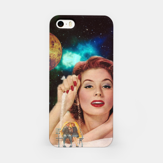 Thumbnail image of Redhead Goddess Digital Collage iPhone Case, Live Heroes