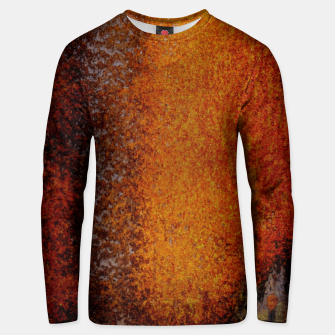 Thumbnail image of Rusty Old Scrathed Grunge Metal Steel Cotton sweater, Live Heroes