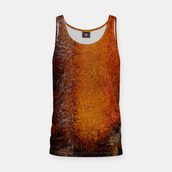 Thumbnail image of Rusty Old Scrathed Grunge Metal Steel Tank Top, Live Heroes