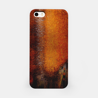 Thumbnail image of Rusty Old Scrathed Grunge Metal Steel iPhone Case, Live Heroes