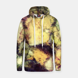 Thumbnail image of Crumbling sky Cotton hoodie, Live Heroes