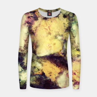 Thumbnail image of Crumbling sky Woman cotton sweater, Live Heroes