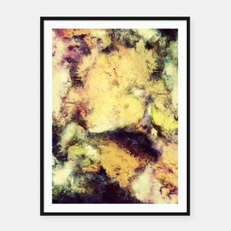 Thumbnail image of Crumbling sky Framed poster, Live Heroes