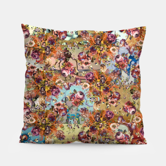 Thumbnail image of Vintage Fantasy Pillow, Live Heroes