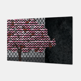 Miniature de image de Abstract Pink Blossom tree composition on rust Canvas, Live Heroes