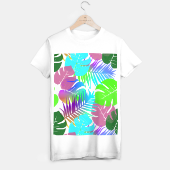 Thumbnail image of Tropical Summer Leaf Design T-shirt regular, Live Heroes