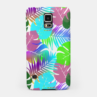 Thumbnail image of Tropical Summer Leaf Design Samsung Case, Live Heroes
