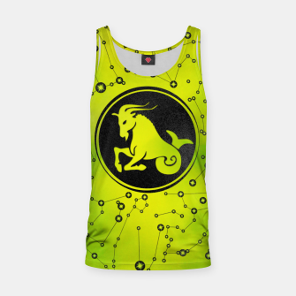 Thumbnail image of Capricorn Zodiac Sign Earth element Tank Top, Live Heroes