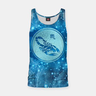 Thumbnail image of Scorpio Zodiac Sign Water element Tank Top, Live Heroes