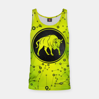 Thumbnail image of Taurus Zodiac Sign Earth element Tank Top, Live Heroes