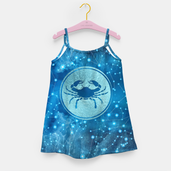 Thumbnail image of Cancer Zodiac Sign Water element Girl's dress, Live Heroes
