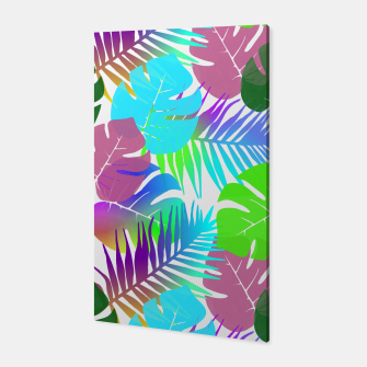 Thumbnail image of Tropical Summer Leaf Design Canvas, Live Heroes
